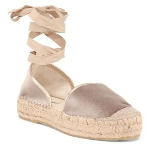 Free People taupe espadrilles Size 39